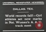 Image of National Women's track meet Dallas Texas, 1930, second 4 stock footage video 65675023814