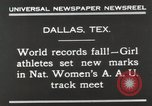 Image of National Women's track meet Dallas Texas, 1930, second 5 stock footage video 65675023814