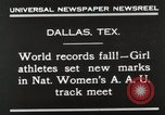 Image of National Women's track meet Dallas Texas USA, 1930, second 6 stock footage video 65675023814