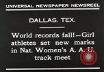 Image of National Women's track meet Dallas Texas, 1930, second 7 stock footage video 65675023814