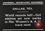 Image of National Women's track meet Dallas Texas, 1930, second 10 stock footage video 65675023814