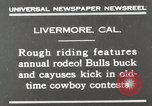Image of Annual rodeo Livermore California USA, 1930, second 2 stock footage video 65675023815