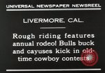 Image of Annual rodeo Livermore California USA, 1930, second 8 stock footage video 65675023815