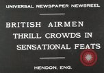 Image of British air show Hendon England, 1930, second 2 stock footage video 65675023816