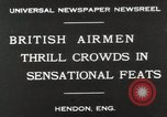 Image of British air show Hendon England, 1930, second 3 stock footage video 65675023816
