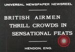 Image of British air show Hendon England, 1930, second 4 stock footage video 65675023816