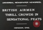Image of British air show Hendon England, 1930, second 5 stock footage video 65675023816