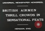 Image of British air show Hendon England, 1930, second 6 stock footage video 65675023816