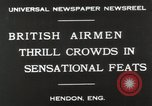 Image of British air show Hendon England, 1930, second 7 stock footage video 65675023816