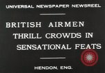Image of British air show Hendon England, 1930, second 8 stock footage video 65675023816