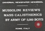 Image of Benito Mussolini Rome Italy, 1930, second 1 stock footage video 65675023817