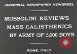 Image of Benito Mussolini Rome Italy, 1930, second 2 stock footage video 65675023817