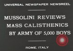 Image of Benito Mussolini Rome Italy, 1930, second 3 stock footage video 65675023817