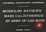 Image of Benito Mussolini Rome Italy, 1930, second 4 stock footage video 65675023817