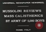 Image of Benito Mussolini Rome Italy, 1930, second 5 stock footage video 65675023817