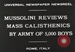 Image of Benito Mussolini Rome Italy, 1930, second 6 stock footage video 65675023817