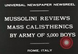 Image of Benito Mussolini Rome Italy, 1930, second 7 stock footage video 65675023817