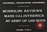 Image of Benito Mussolini Rome Italy, 1930, second 8 stock footage video 65675023817