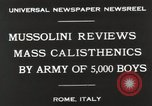 Image of Benito Mussolini Rome Italy, 1930, second 9 stock footage video 65675023817