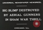Image of Blimp shot down over Chicago Chicago Illinois USA, 1930, second 7 stock footage video 65675023819