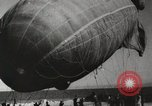 Image of Blimp shot down over Chicago Chicago Illinois USA, 1930, second 11 stock footage video 65675023819