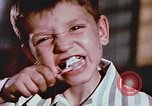 Image of Radioactivity in toothpaste United States USA, 1957, second 5 stock footage video 65675023832