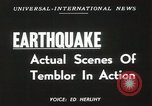 Image of Earthquake Maria Madre Island Mexico, 1949, second 5 stock footage video 65675023834