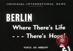 Image of Fliers of Operation Vittles Berlin Germany, 1949, second 1 stock footage video 65675023835