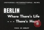 Image of Fliers of Operation Vittles Berlin Germany, 1949, second 2 stock footage video 65675023835