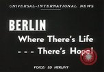 Image of Fliers of Operation Vittles Berlin Germany, 1949, second 3 stock footage video 65675023835