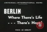 Image of Fliers of Operation Vittles Berlin Germany, 1949, second 4 stock footage video 65675023835