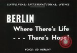 Image of Fliers of Operation Vittles Berlin Germany, 1949, second 6 stock footage video 65675023835