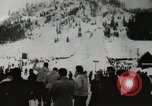 Image of Ski jumpers Snoqualmie Pass Washington USA, 1949, second 3 stock footage video 65675023841