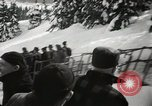Image of Ski jumpers Snoqualmie Pass Washington USA, 1949, second 5 stock footage video 65675023841