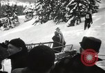 Image of Ski jumpers Snoqualmie Pass Washington USA, 1949, second 6 stock footage video 65675023841