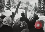 Image of Ski jumpers Snoqualmie Pass Washington USA, 1949, second 10 stock footage video 65675023841