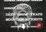 Image of deep snow Denver Colorado USA, 1933, second 4 stock footage video 65675023843