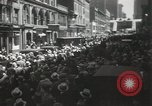 Image of Rioters on street New York United States USA, 1933, second 12 stock footage video 65675023844