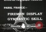 Image of Firemen Paris France, 1933, second 1 stock footage video 65675023846