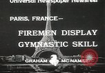 Image of Firemen Paris France, 1933, second 2 stock footage video 65675023846