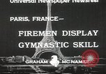 Image of Firemen Paris France, 1933, second 3 stock footage video 65675023846