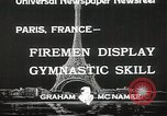 Image of Firemen Paris France, 1933, second 5 stock footage video 65675023846