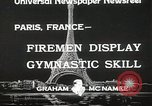 Image of Firemen Paris France, 1933, second 6 stock footage video 65675023846