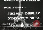 Image of Firemen Paris France, 1933, second 7 stock footage video 65675023846