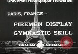 Image of Firemen Paris France, 1933, second 9 stock footage video 65675023846
