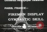 Image of Firemen Paris France, 1933, second 10 stock footage video 65675023846