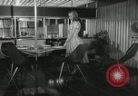Image of model futuristic kitchen United States USA, 1950, second 4 stock footage video 65675023859