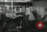 Image of model futuristic kitchen United States USA, 1950, second 6 stock footage video 65675023859
