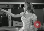 Image of model futuristic kitchen United States USA, 1950, second 10 stock footage video 65675023859