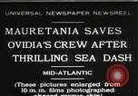 Image of Mauretania Atlantic Ocean, 1930, second 1 stock footage video 65675023905